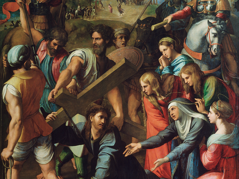 Christ Falling on the Way to Calvary – Raphael